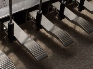 Pedal Steel pedals - Emmons LeGrande 2 - raise and lower pitches