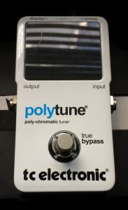 Pedal Steel Tuners - A Non-Tempered Tuning Pedal for Pedal Steel Guitar - TC Electronic Polytune