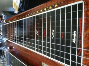 Using a metronome for pedal steel practice