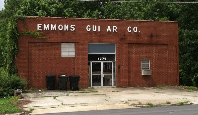 Emmons Guitar Company - Burlington, NC - Pedal Steel Blocking - Right Hand