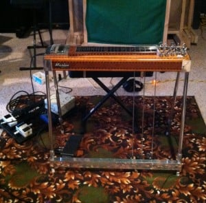 Practice or Recording Station for Pedal Steel
