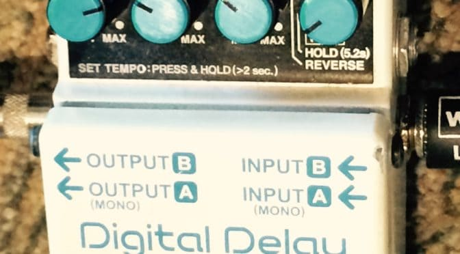 Sonic Territory: The Volume and Delay Pedal